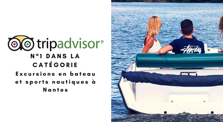 N°1 dans la catégorie : excursions en bateau et sports nautiques à Nantes