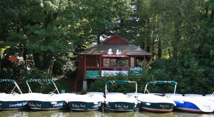 accueil Ruban Vert location bateau électrique