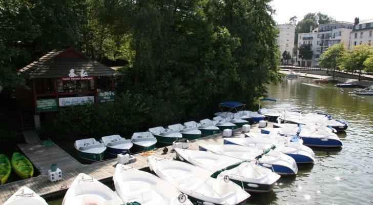 Horaires Ile de Versailles ponton bateaux électriques