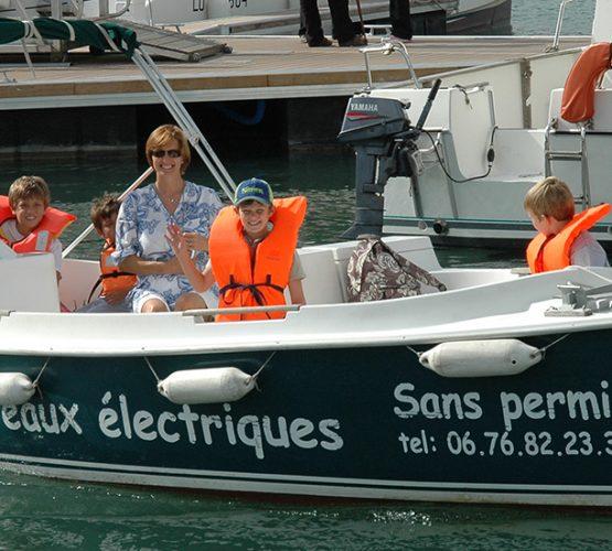 Sortie famille nantes bateau electrique