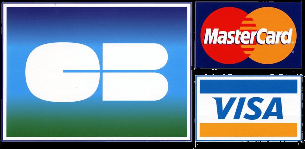 tarifs et Paiement par carte avec Carte bleue, mastercard et Visa