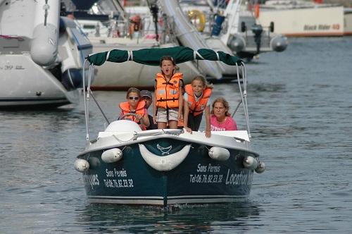 location bateau enfant