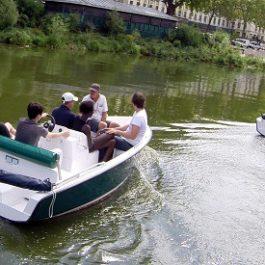 location bateau collègues