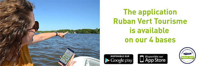 The application Ruban Vert Tourisme